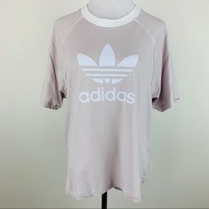 NEW Adidas Originals Iced Purple Trefoil Tee sz XL